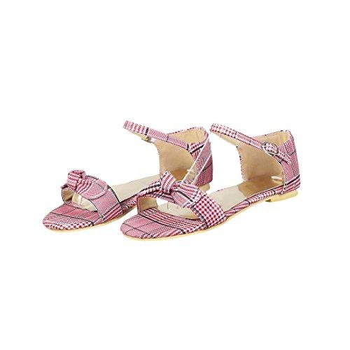 Gran Mujer Sandalias Pajarita los de Plano Sandalia Un Sandalias Pulsera de Gules Mujer Estudiantes Femeninas Mujer para la de con Zapatos de Fondo Código Las para F1wW1X0P6q