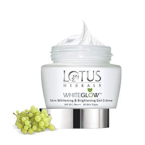 Lotus Herbals Whiteglow Skin Whitening & Brightening Gel Creme SPF 25 60g