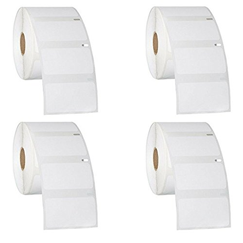 30334 Dymo Compatible Multipurpose Labels - 2 1/4 X 1 1/4 (4 Pack)
