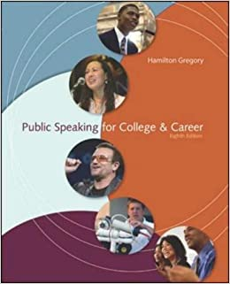Book Public Speaking for College & Career, Instructor's Edition by Hamilton Gregory (2008-01-31)