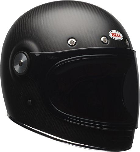 Bell Bullitt - Casco de moto de carbono, Mediano, Solid Matte Carbon, Mediano