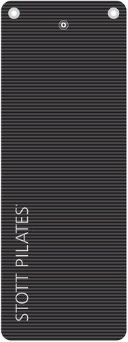 STOTT PILATES Deluxe Pilates Mat with Grommets (Graphite) 0.6 inch / 15 mm