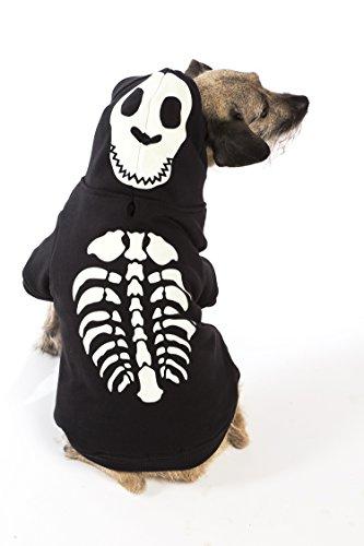 Glow in the Dark Skeleton Pet Costume (glow in the dark skeleton costume large)