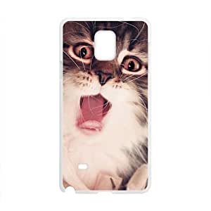 Cute Cat Stick Out Tongue Phone For SamSung Galaxy S5 Case Cover