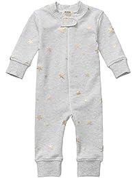 Organic Cotton Baby Boy Girl Zip Up Sleep N Play, Footless, Long Sleeve (Size 0-18 Month)