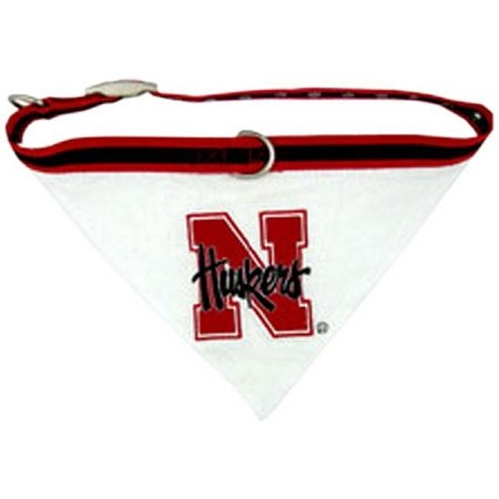 Mirage Pet Products Nebraska Corn Huskers Bandana for Dogs and Cats, Large from Pets First