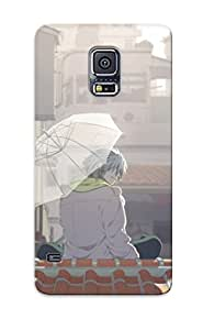 Galaxy S5 Hard Back With Bumper Silicone Gel Tpu Case Cover For Lover's Gift Anime Dramatical Murder