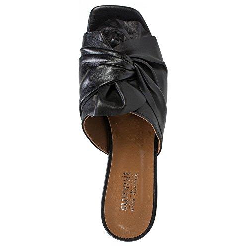 by Noelle Mountain Summit Women's Heel White Black Shoes ngEFwxIB