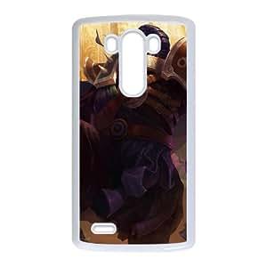 LG G3 Cell Phone Case White League of Legends Nemesis Jax Xjnjh