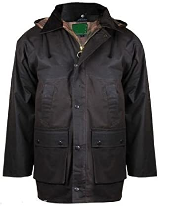 Mens Countryman Quilted Cotton Waxed Jacket 3 Colours Amazon