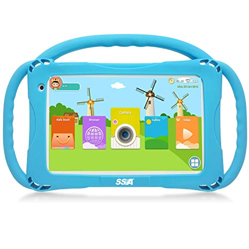 Kids Tablet, Android 9.0 Tablets, for Learning and Entertaining,Kids Edition Tablet PC Quad Core,with WiFi Camera IPS…