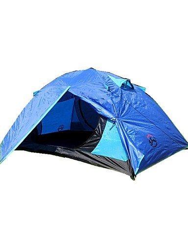 Zelt ( Rot/Blau/Hellblau/Orange , 3-4 Personen ) -Feuchtigkeitsundurchlässig/Wasserdicht/Atmungsaktivität/Regendicht/Anti-Insekten/Winddicht/Gut