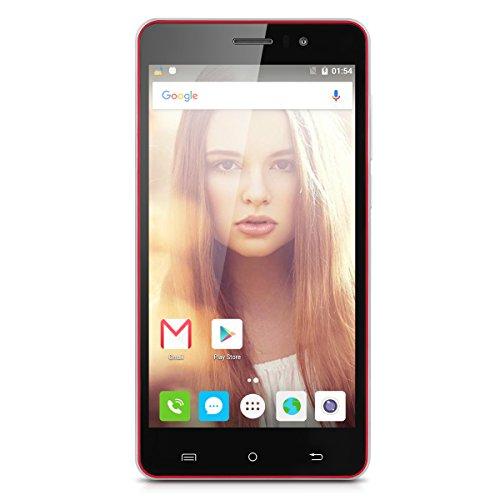 CUBOTRainbow 5.0''HD Screen 3G-Smartphone Quad Core DualSIM Android 6.0 Handy ohne Vertrag 1GB+16GB OTG GPS Rot