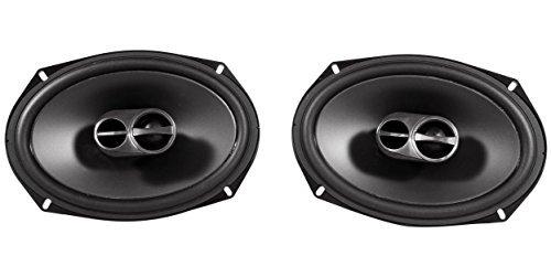 Package: Pair of Alpine SPS-619 6'' x 9'' 3 Way Coaxial Car Speakers Totalling 520 Watt Peak / 170 Watt RMS + Pair of Alpine SPS-610 6.5'' 2 Way Coaxial Car Speakers Totaling 480 Watt Peak / 160 Watt RMS