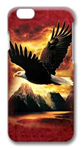 Eagle Custom iphone 5C inch Case Cover Polycarbonate 3D
