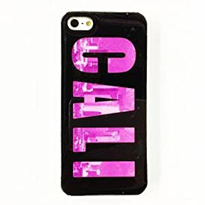 GHK - California Building Pattern Plastic Hard Case for iPhone 5/5S , Multicolor