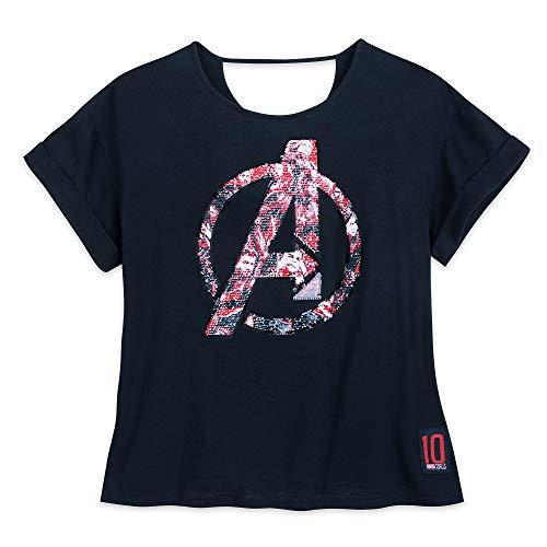 Marvel Avengers: Endgame Reversible Sequin T-Shirt for Women Size S -