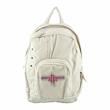 Amazon.com   NBA Houston Rockets Old School Backpack   Sports Fan ... d972c9d176d2d