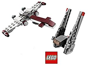 Lego Star Wars Z-95 Headhunter & Kylo Ren's Command Shuttle Starship set - Polybag 30279 + 30240 Force Awakens + Clone Wars edition Building Set