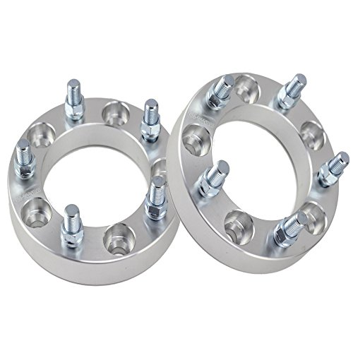 "Set of 2 | 1"" 5x5.5 (5x139.7) Wheel Spacers 