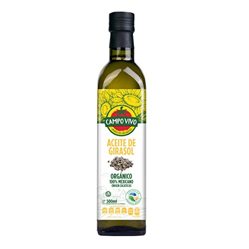 Campo Vivo Aceite de Girasol, 500 ml
