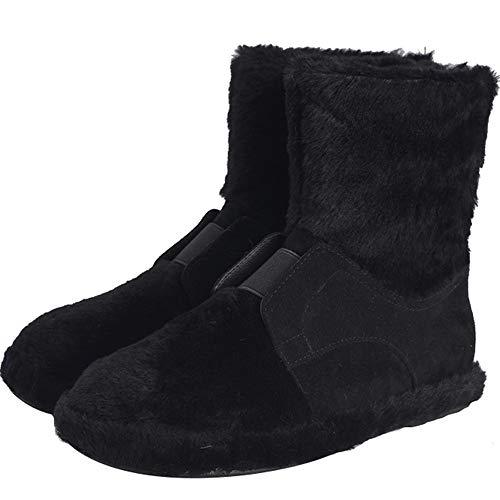 Bottes Chaussures Plateforme 36 En Noires Coton Bottillons Tube Hiver Vcafdaf Court Neige Femme Eu De vwn0mON8