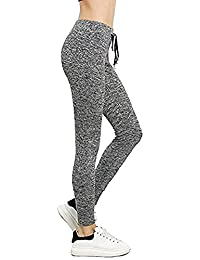 Sweaty Rocks Women's Tights Long Workout Legging Cotton Yoga Pant