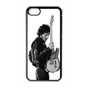 iPhone 5c Cell Phone Case Black Bruce Springsteen as a gift J2273522