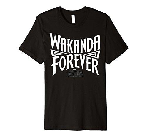 Marvel Black Panther Wakanda Forever Inward Premium - Forever T-shirt Green