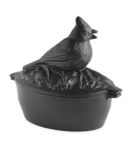 Wood Stove Steamer - Plow & Hearth Cast Iron Wood Stove Steamer and Humidifier (Cardinal Bird)