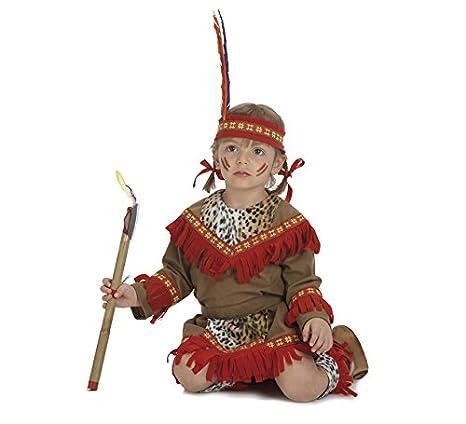 0a1a12a6754e6 Disfraz de Bebé India lujo para niñas de 2-3 años  Amazon.es  Juguetes y  juegos