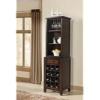 Vilo Home VH1307 1 Drawer Tuscan Hills Wine Pier Cabinet