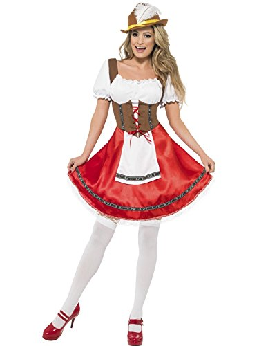 Bavarian Wench Costume - Plus Size 1X - Dress Size 18-20 (Adult Gretel Costume)