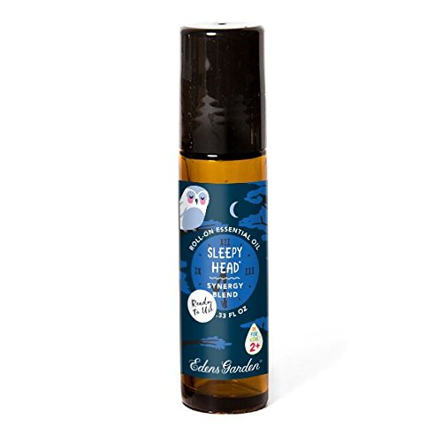 Edens Garden Sleepy Head 10 ml Roll-On Synergy Blend 100% Pure Undiluted Therapeutic Grade GC/MS Certified Essential Oil