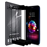 [3 Pack] LK Screen Protector for LG Premier Pro LTE/Phoenix Plus, [Full Cover][Japan Tempered Glass] 9H Hardness with Lifetime Replacement Warranty