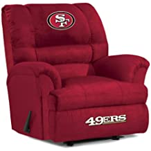 Imperial Officially Licensed NFL Furniture: Big Daddy Microfiber Rocker Recliner,  Bay Packers