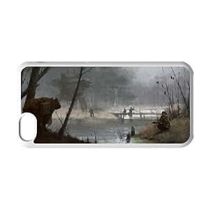 {Art Series} IPhone 5C Cases Revolution Can Wait, Case Kweet - White