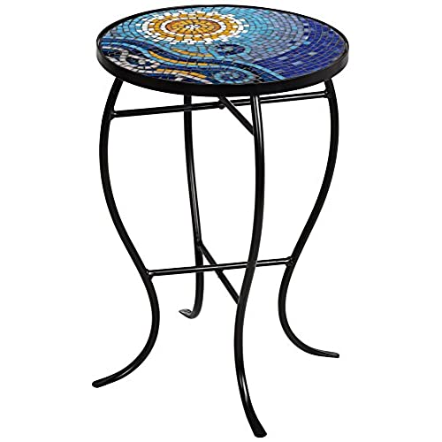 metal image furniture digital ideas idea astonishing patio mosaic