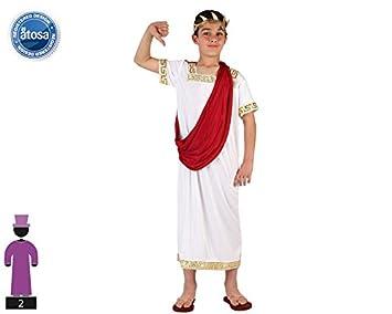 Atosa- Disfraz Romano, 3 a 4 años (6602): Amazon.es: Juguetes y juegos