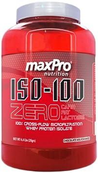 ISO-100 ZERO maxPro nutrition 2KG: Amazon.es: Salud y cuidado ...