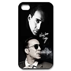 Customized iPhone Case Nicolas Cage Printed Durable Hard iPhone 4 4S Case Cover by runtopwell
