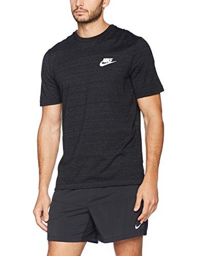 Nike Men's Sportswear Advance 15 Top, Black (XL)