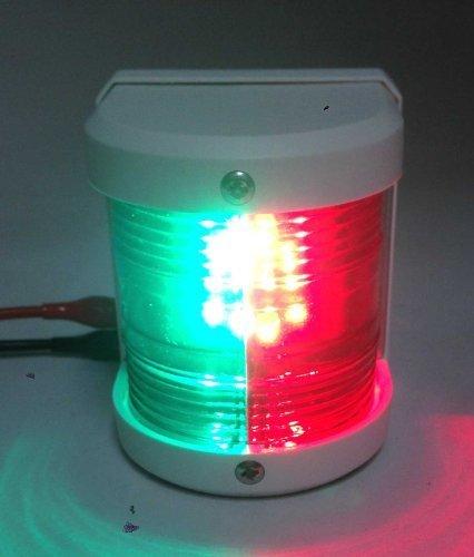 Marine Stiefel rot & grün Schleife LED Funktionslicht Wasserdicht 2 Nautische Meilen von pactrademarine