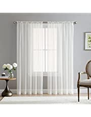 Luxury Voile chiffon curtains - road packet design