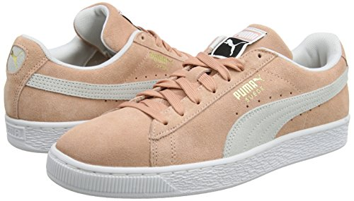 Basse Classic – Suede Clay muted Puma White puma Adulto Unisex Sneaker Beige q5Xtqxw
