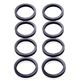 ORANDESIGNE 8PCS Gas Can Spout Rubber Gasket Seal Replacement kit for Plastic Gas Can Gott Rubbermaid Essence Wedco Briggs & Stratton Scepter Moeller Eagle Midwest EZ-Pour (8)