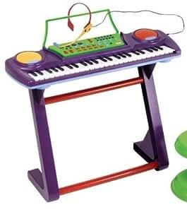 Little Tikes Jumbo Sing Along 49 Keys Keyboard with Microphone