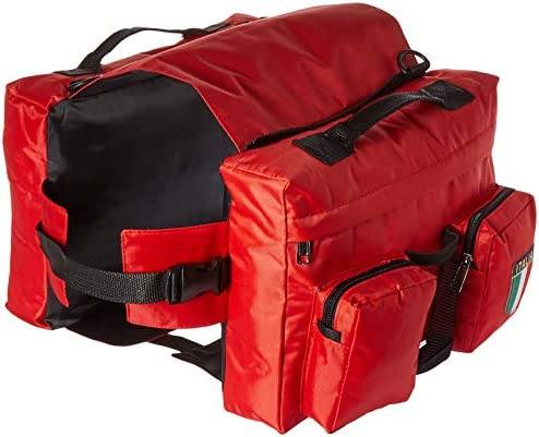 PetCondo Waterproof Travel Camping Hiking Dog Back Pack BAG for Large Dogs Red