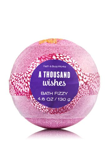 Wish Bubble Bath (Bath and Body Works A Thousand Wishes Signature Collection Bath Fizzy 4.6 Oz / 130 g)