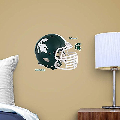 NCAA Michigan Spartans Helmet Fathead Teammate
